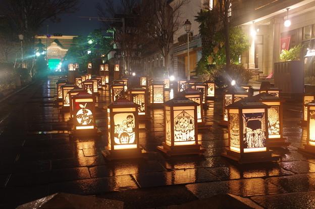 Photos: 雨の灯篭