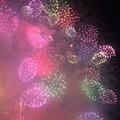 写真: 夜空に咲いた紫陽花