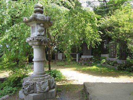 介山先生の碑