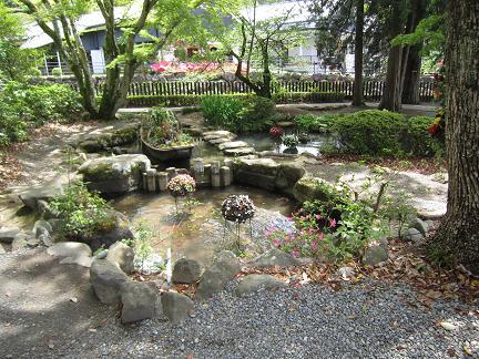 反射炉と共に使われた池