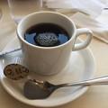 写真: コーヒーに・・・