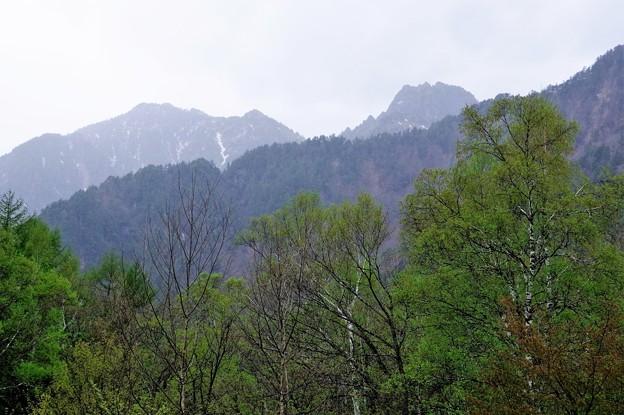 IMGP4286 大木場の辻と錫杖岳