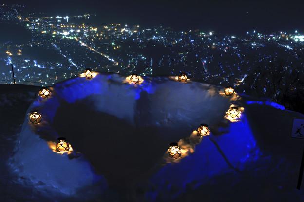 写真: 天狗山から/愛の撮影スポット
