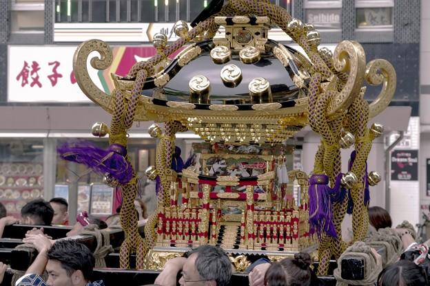 記録・札幌まつり/奉祝神輿 b