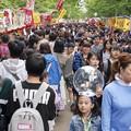 記録・札幌まつり/左側通行の中島公園