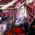 記録・札幌まつり/人気のジャンボやきとり露店
