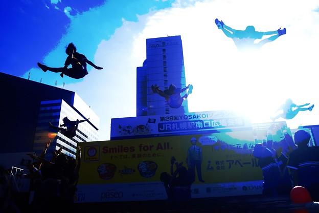 YOSAKOIソーラン祭り/空へ ジャンプ!