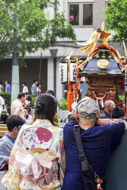 祭りの日/小樽寸景/団扇