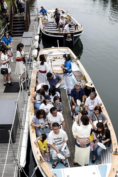 祭りの日/小樽寸景/運河