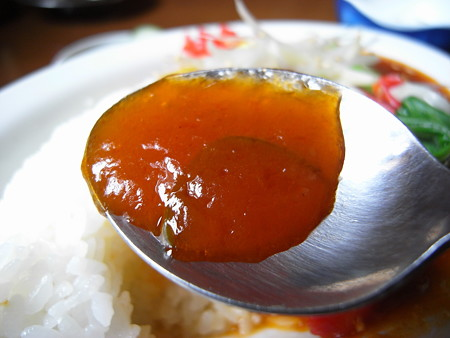 中華 宝亭 天津丼 餡アップ
