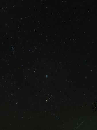 Canon Power Shot S120にて撮影(星空モード)