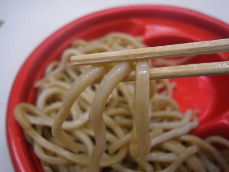 ローソン 麺屋こうじ監修つけ麺(あつもり) 麺アップ