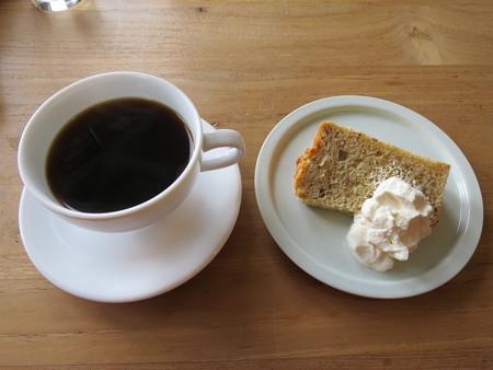 コーヒー&シフォンケーキ(セット)