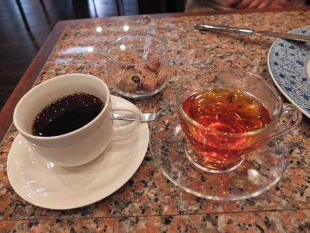 澁い コーヒー&ルイボスティー