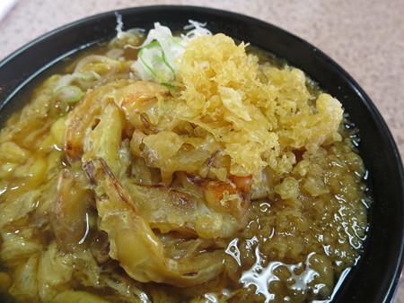 越善 直江津店 天ぷら卵とじそば アップ