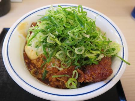 かつや上越店 ねぎ味噌カツ丼(期間限定)¥637