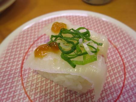 かっぱ寿司 上越店 えんがわ(ポン酢ジュレのせ)¥108