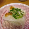 Photos: かっぱ寿司 上越店 えんがわ(ポン酢ジュレのせ)¥108