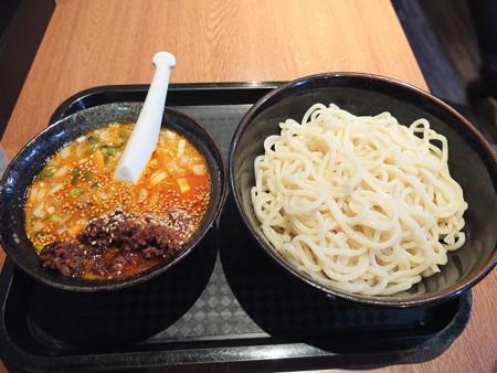 宝来軒 総本店 特つけ麺(普)坦々つけ汁¥918