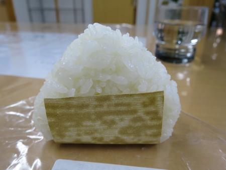 うおぬま倉友農園 おにぎりや 塩おにぎり¥100