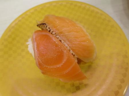 魚べい 上越高田店 サーモン・焼サーモン¥108