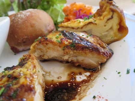 Sucre(シュクレ) ワンプレートランチ(肉料理)肉断面の様子