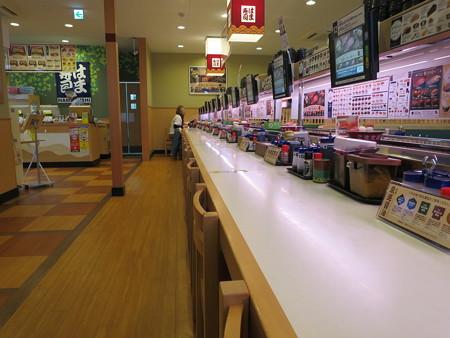はま寿司 上越店 店内の様子