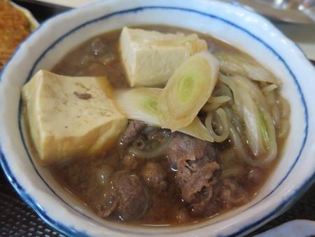 大鵬食堂 日替り定食(牛すき・めぎすフライ) 牛すきアップ
