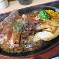 そばかつ慶兆 ビーフステーキ食べ放題(時間制限60分)¥1620