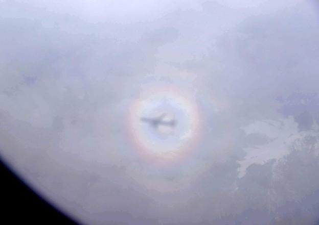 機窓から見えた珍景