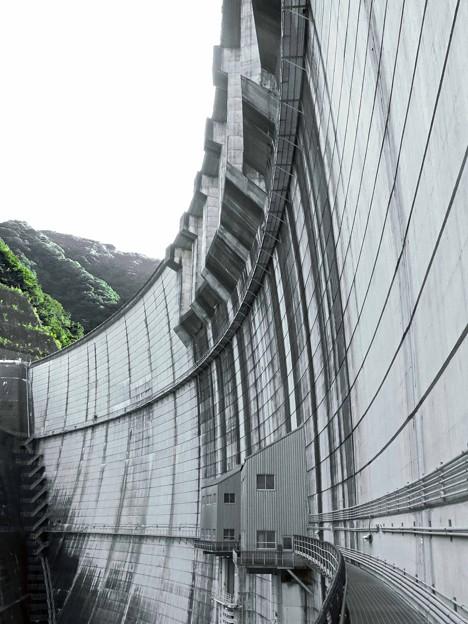 Photos: ダムを見上げる
