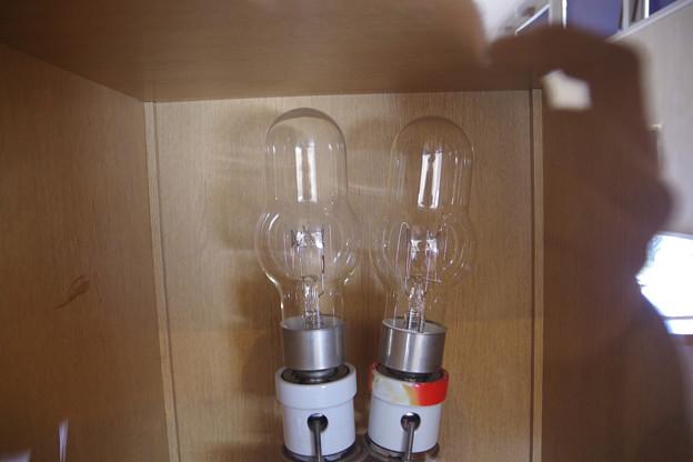 燈台のランプ