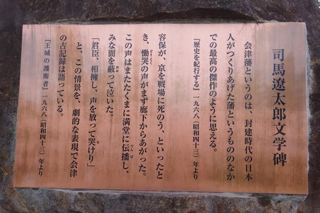 司馬遼太郎文学碑