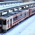 写真: 飯山線雪景色 おいこっと