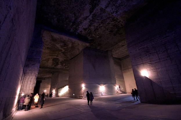 Underground big city Maybe Atlantis (地底大都市 もしかしてアトランティス)