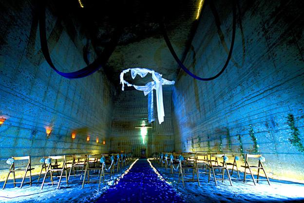 Underground of the wedding hall !! ★(^^♪☆ Wink!(地底の結婚式場゚)