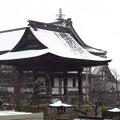 Photos: 初詣は雪