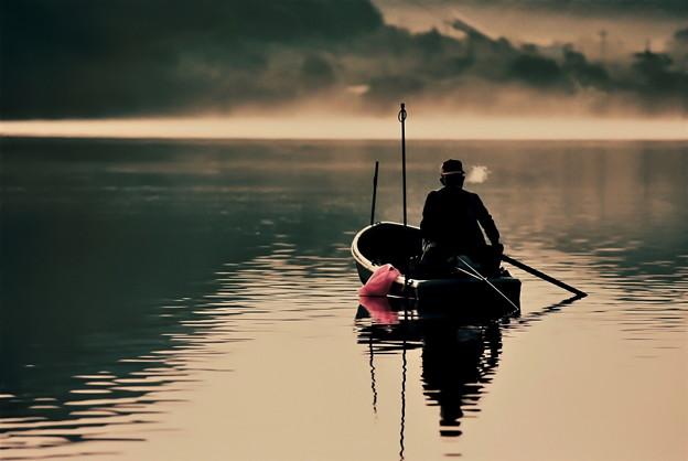 Photos: 朝の釣り