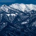 写真: 冬山