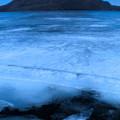 Photos: 氷上の榛名湖