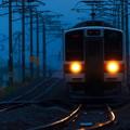 朝の一番電車