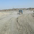 写真: 未舗装路