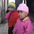 写真: 市場の子供たち