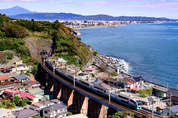 写真: 早川~根府川