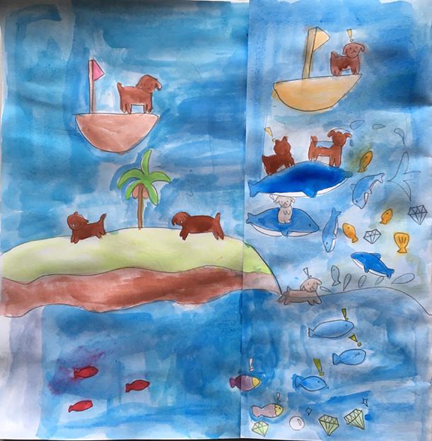 海の世界を描こう1-2