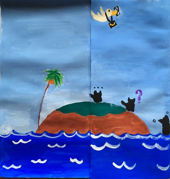 海の世界を描こう2-1
