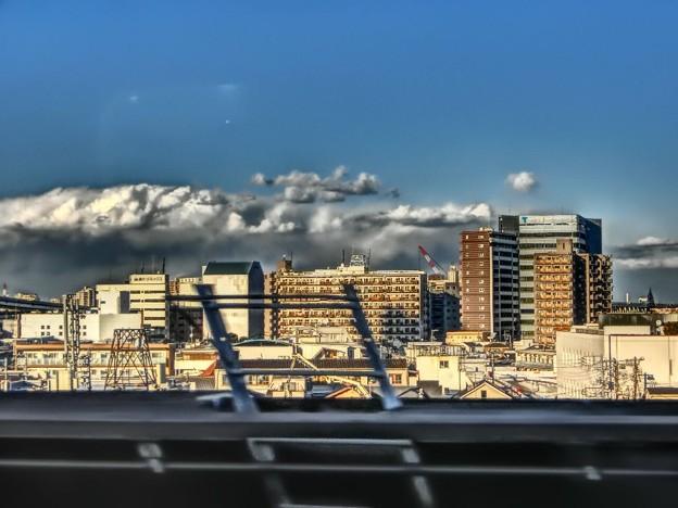 東北新幹線から見る大宮