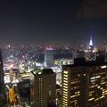 写真: 新宿の夜
