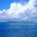 写真: ココス島