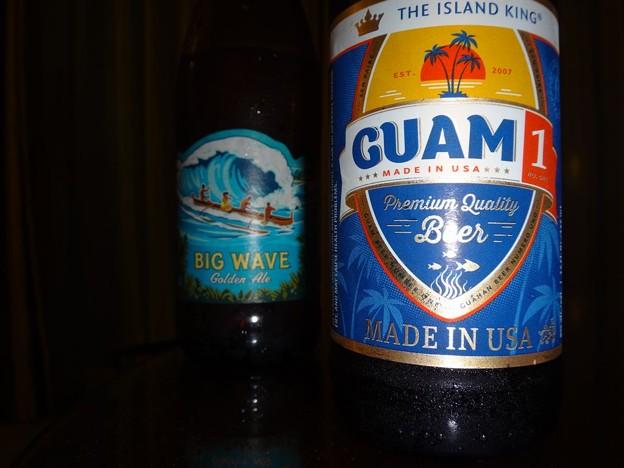 グアムとハワイのビール
